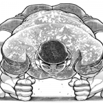 【バキ道】野見宿禰さん、迫力の四股シーンで1話使いきってしまう