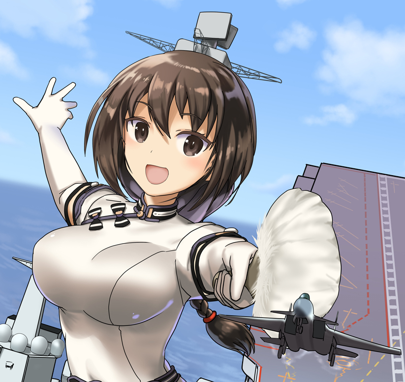 【話題】中国、新空母がすぐに日本人に萌え擬人化されて反響 「草(日本語)」「伝統芸能」