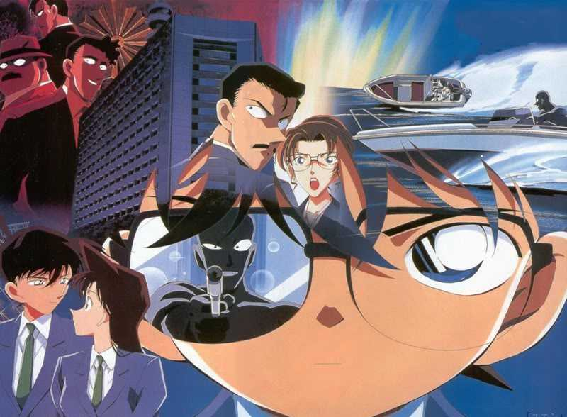 【朗報】金曜ロードショーで名探偵コナン瞳の中の暗殺者キターーーー!!