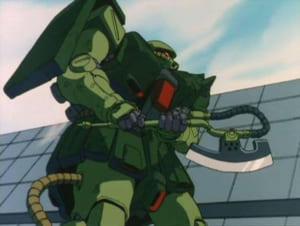 ガンダムに登場するザクの武器「ヒートホーク」がペーパーナイフに