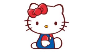 【悲報】キティさん、仕事を選ばない
