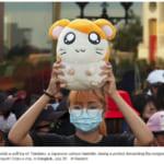 【動画】ハム太郎さん、タイで反政府デモの象徴になるwwwwwwwww