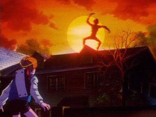 地獄先生ぬ~べ~で屋根の上ででかい人影が踊ってる話wwwwww