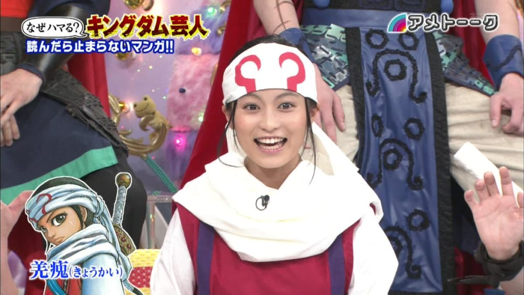 【速報】キングダムの原先生が小島瑠璃子と熱愛発覚 19歳差