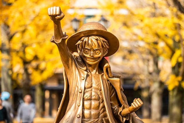 【朗報】モンキー・D・ルフィーさん、熊本市に富をもたらすwwwww