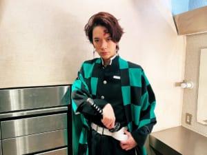 DAIGO(42)鬼滅の刃・炭治郎コスプレ公開 YOSHIKIとHYDEの反応は・・・