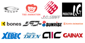 【画像】外国人によるアニメ制作会社格付けがこちら
