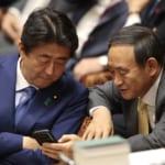 安倍ちゃんと菅総理、ガンダムSEEDみたいな構図になる