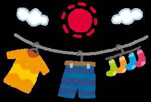 【悲報】アニメさん、下着の干し方を間違えてしまう